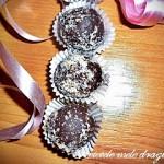Bomboane din ciocolata de casa