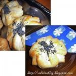 Pastrav la cuptor cu sos de usturoi