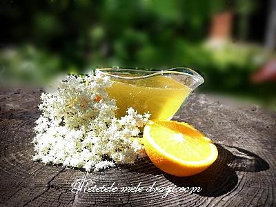 Peltea de soc cu portocale