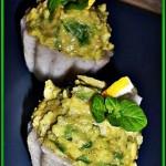 Cosulete de orez cu pasta de avocado--reteta fara gluten