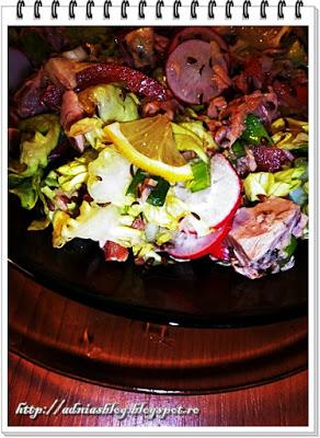 Salata de ton cu seminte
