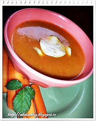 Supa-crema din legume deshidratate