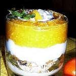 Trifle cu mango
