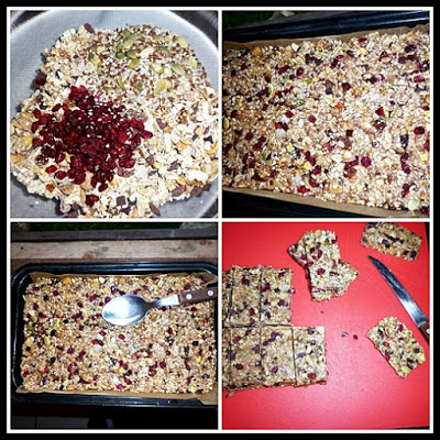 Batoane de cereale raw