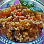 Salata de Cous-cous cu legume--reteta la steamer