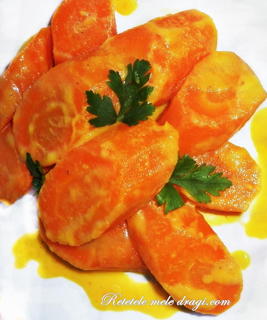 Morcovi cu portocale