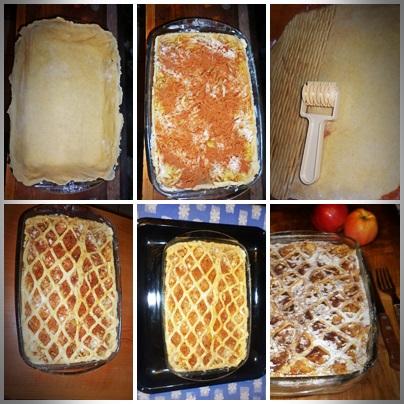 Placinta cu mere si gutui
