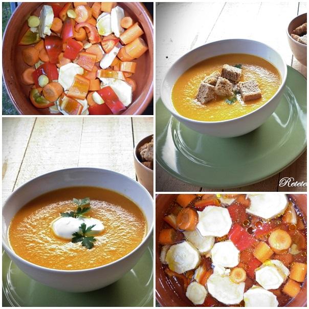 supa de morcov copt
