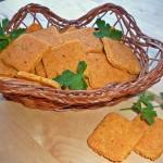 Crackers vegani picanti