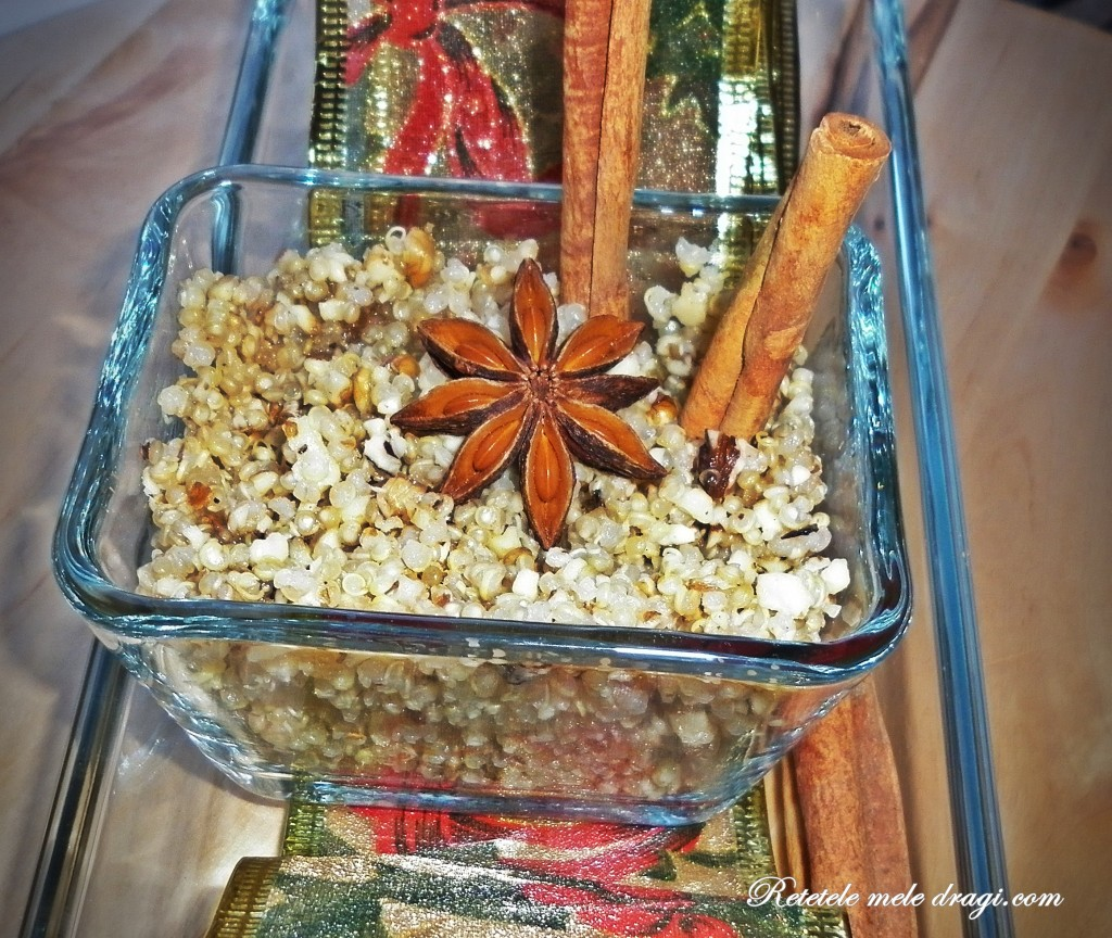 quinoa cu nuci