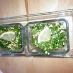 Salata de patrunjel si hrisca