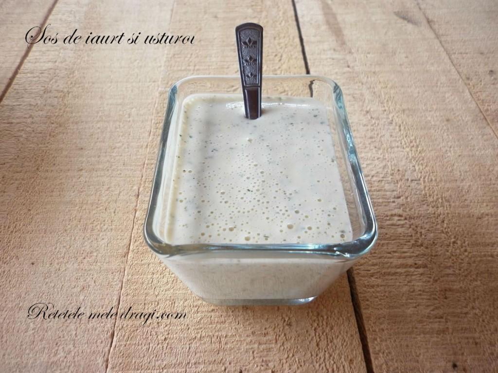 Sos de iaurt cu usturoi