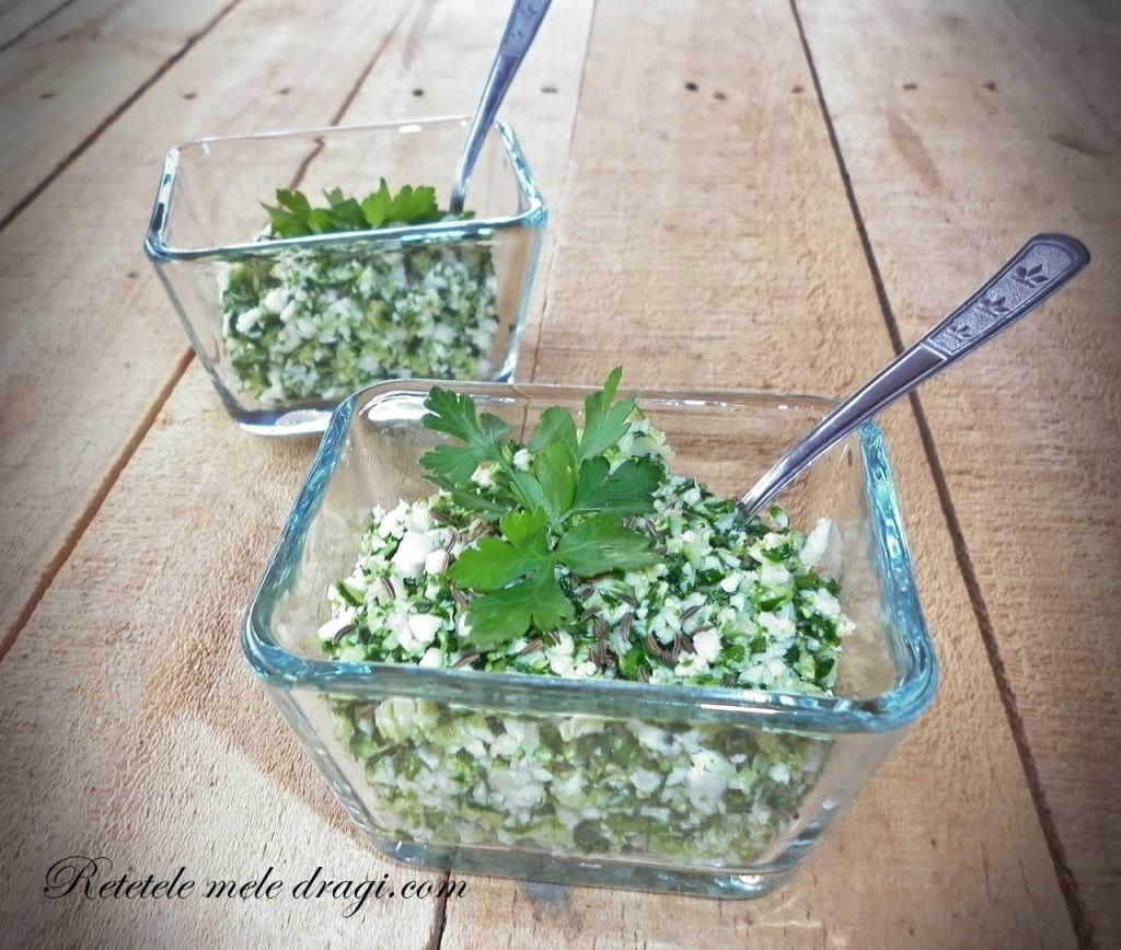 Cous-cous din conopida si broccoli