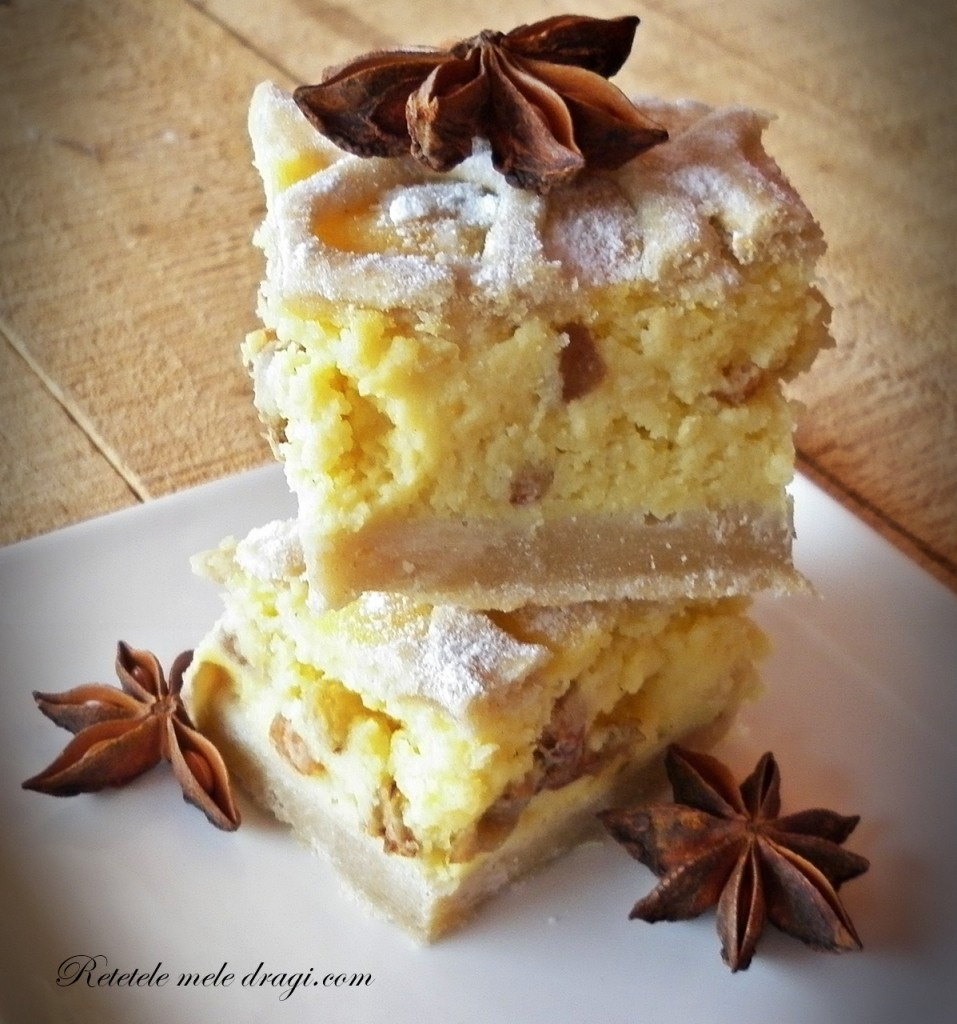 Placinta dulce cu cartofi si stafide--reteta originala