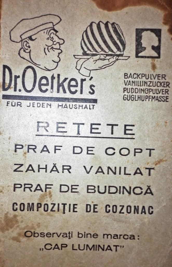 Brosura dr. Oetker, 1932