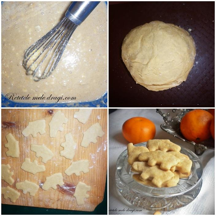 Preparare biscuiti cu mandarine