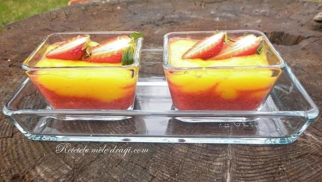 Crema de mango cu capsuni1