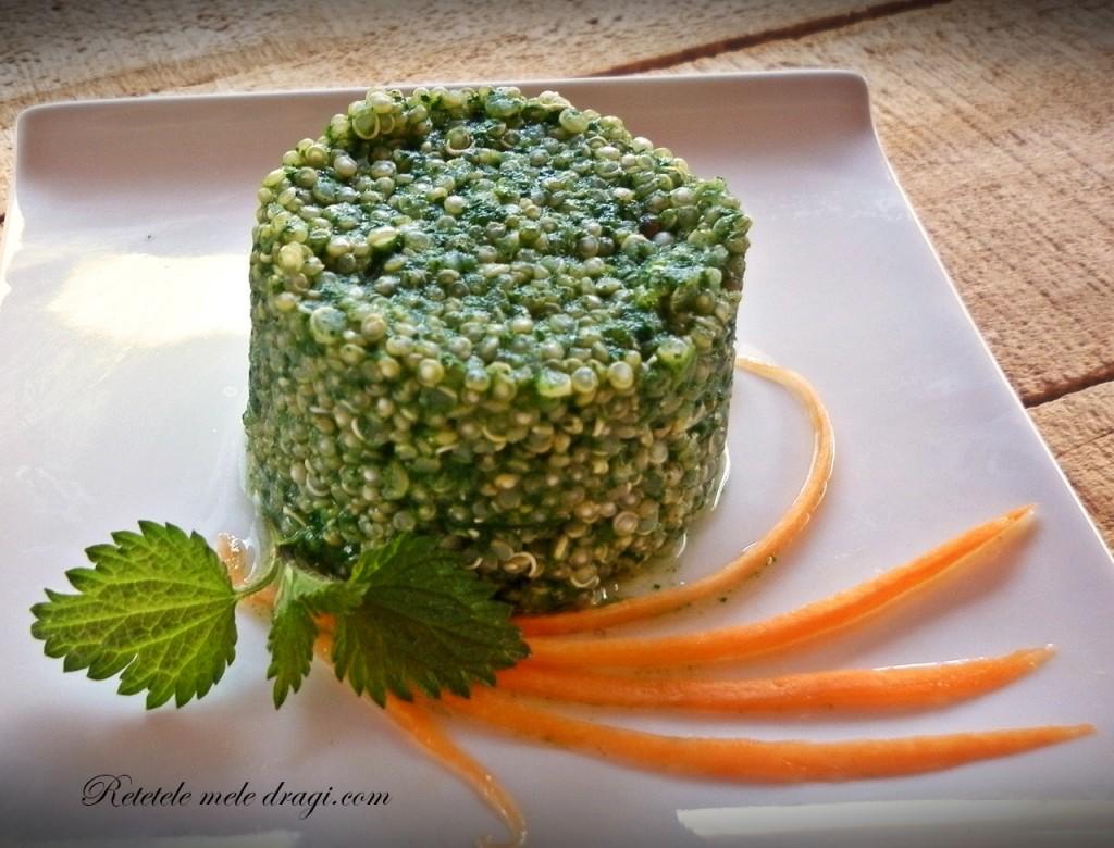 Quinoa cu urzici