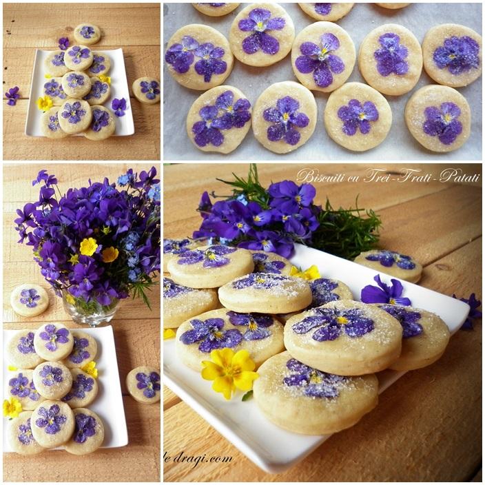 biscuiti cu flori comestibile 2
