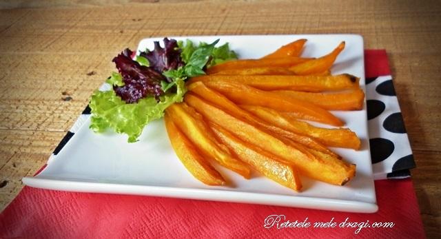 Cartofi dulci pai la cuptor