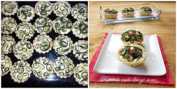 tarte cu zucchini preparare