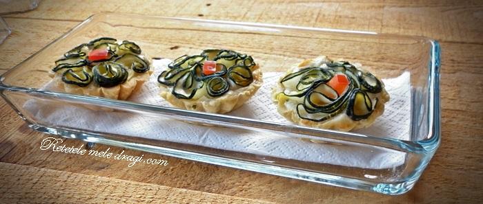 tarte cu zucchini