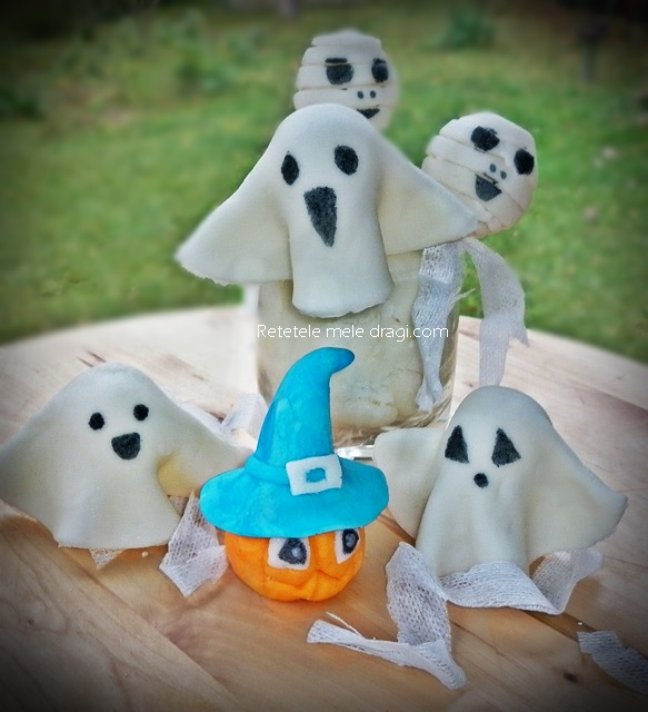 Figurine din zahar pentru Halloween