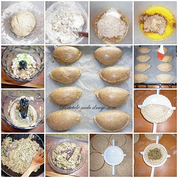 Portofele cu ciuperci preparare