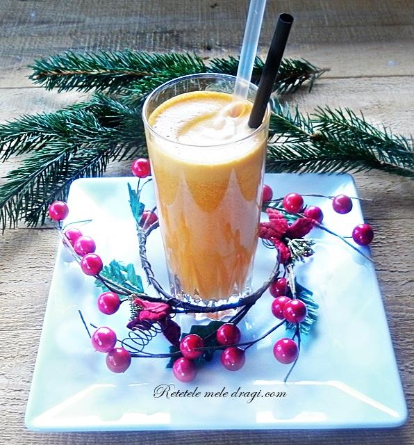 Suc de portocale, morcov si ghimbir
