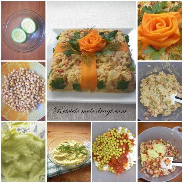 Salata a la Russe cu maioneza fara ou preparare