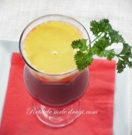 Supa de sfecla rosie cu cartof si morcov