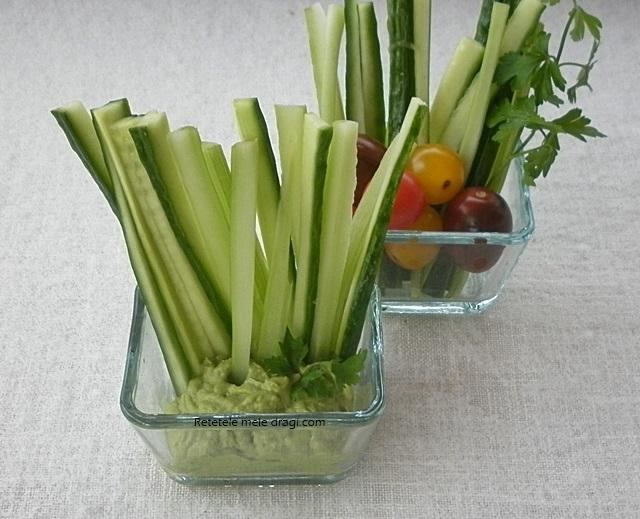 legume cu guacamole