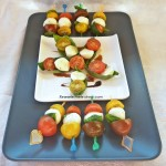 Salata Caprese Finger Food