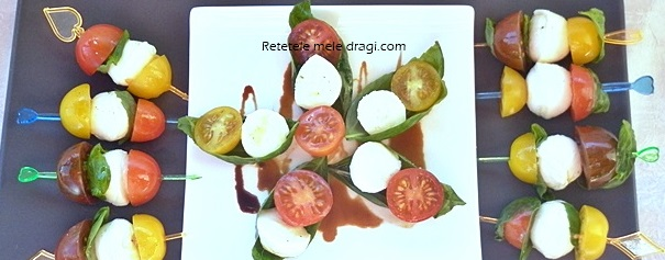 Salata Caprese Finger Food