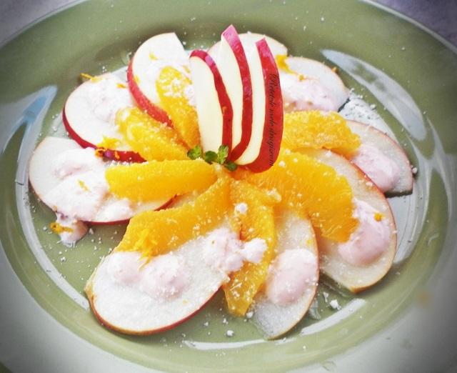 Salata de mere cu portocale