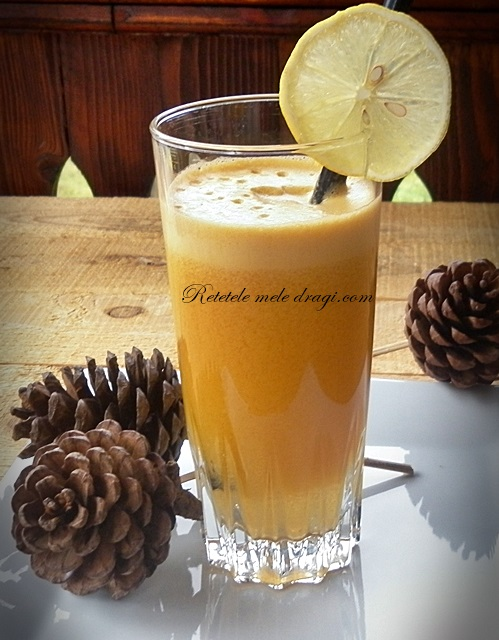 Suc de dovleac, mandarine si ghimbir retetele mele dragi