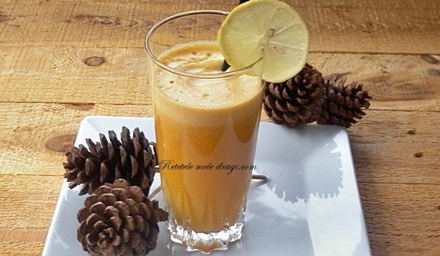 Suc de dovleac, mandarine si ghimbir