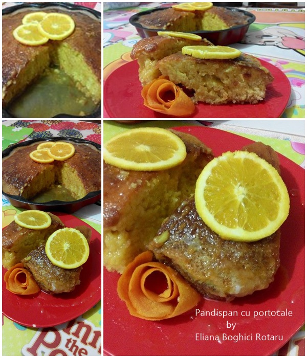 Pandispan cu portocale by Eliana