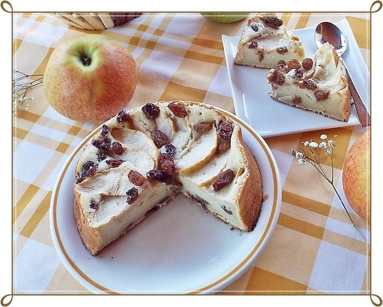 Prajitura cu mere (Apfelkuchen)2