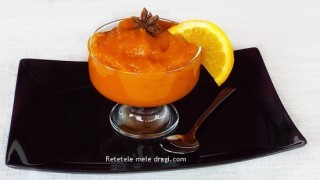 Crema de dovleac cu portocale