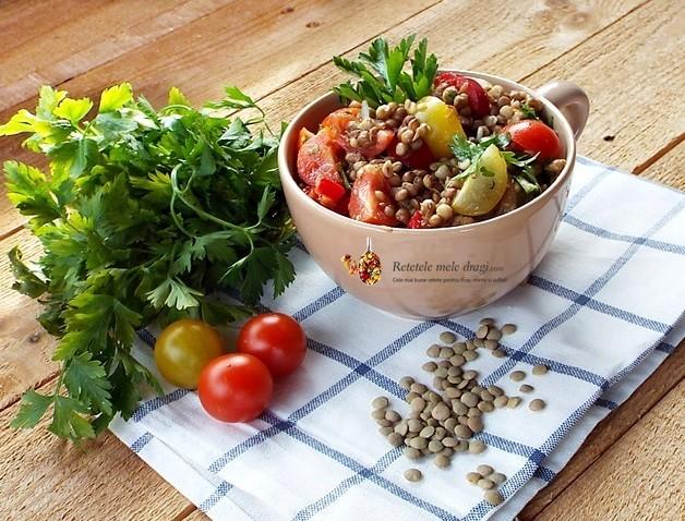 Salata de linte cu legume1