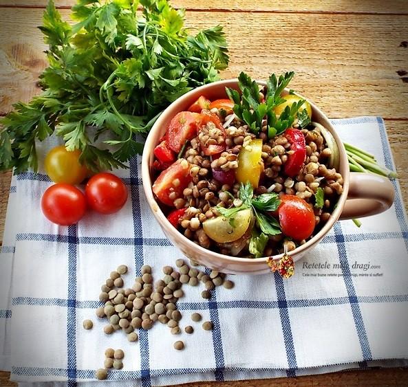 Salata de linte cu legume2