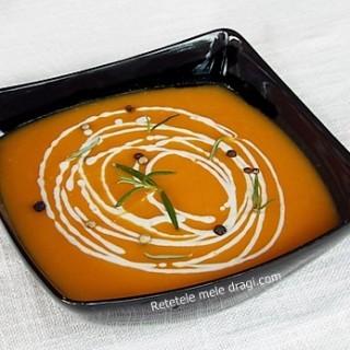 Supa de cartof dulce cu porumb0
