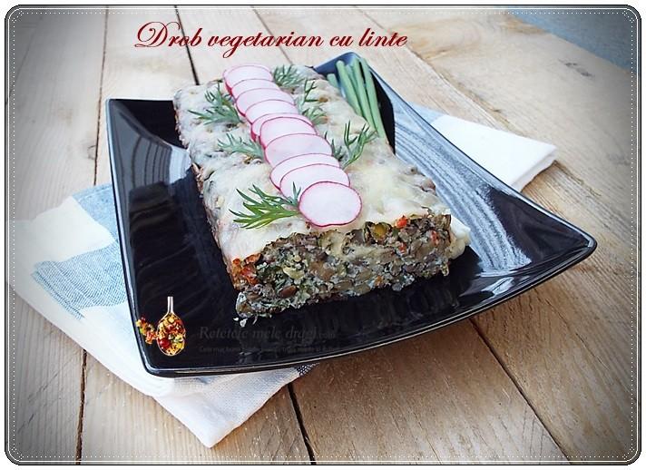 drob vegetarian cu linte1