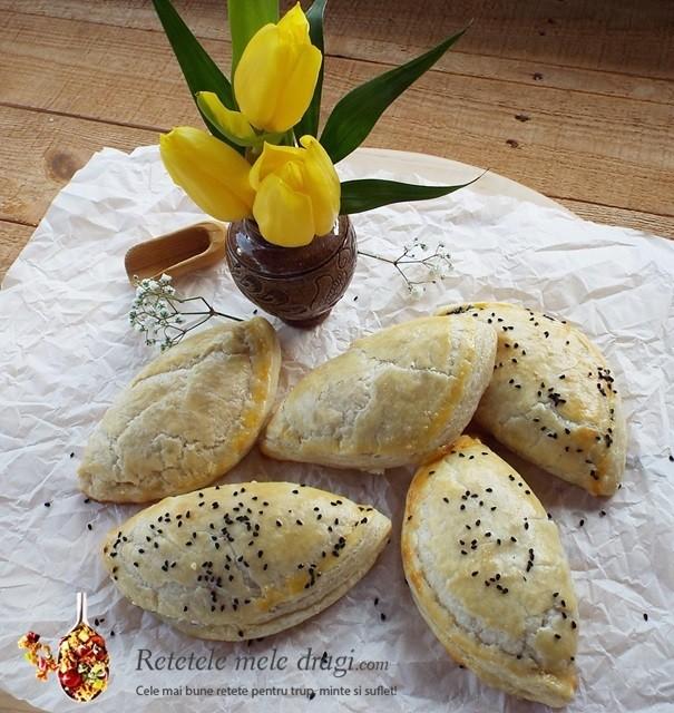 Empanadas (placintele) cu branza si marar
