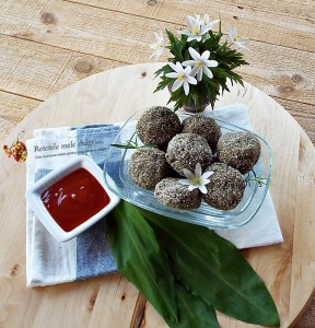 Chiftelute cu ciuperci la cuptor1