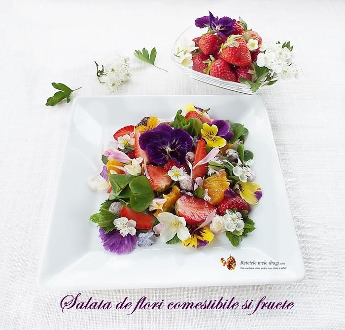 salata de flori comestibile si fructe3