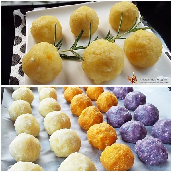 bulete de cartofi cu cascaval la cuptor3
