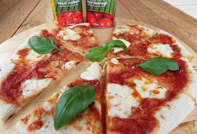 Pizza cu maia naturala1