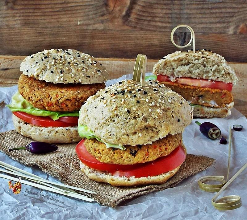 Burgeri vegetarieni cu naut1